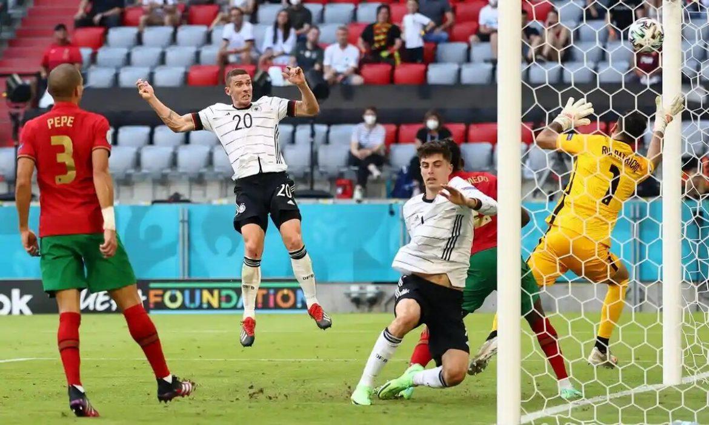 Jerman memperlakukan Portugal dengan baik