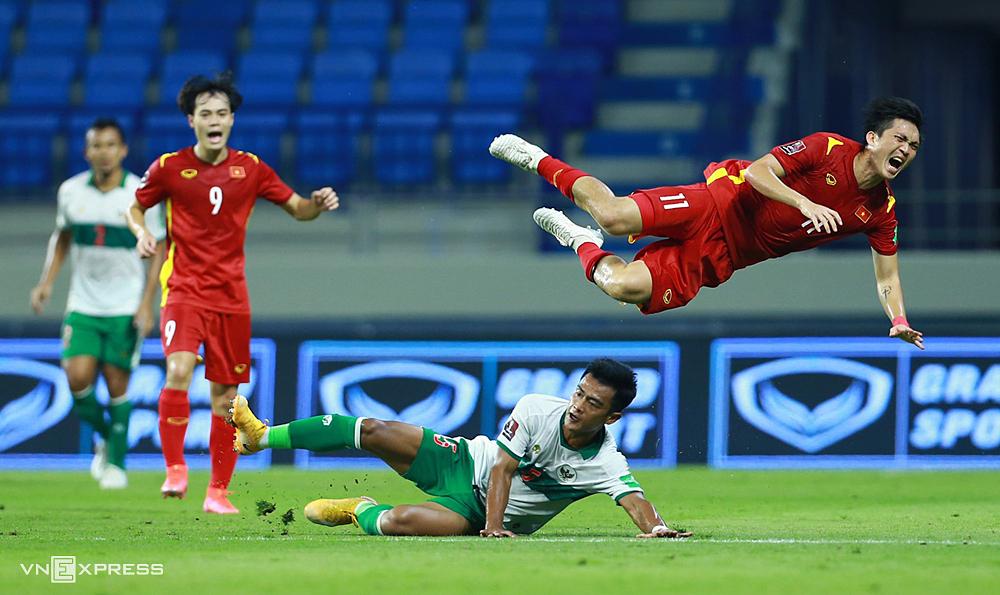 Tuan Anh istirahat dari pertandingan Malaysia