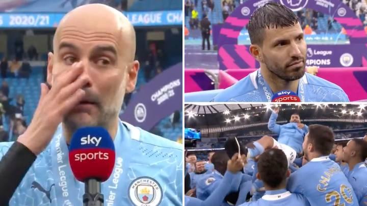 Ayah Aguero: 'Saya tidak percaya air mata Guardiola'