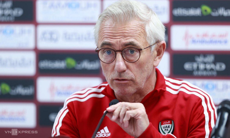 Van Marwijk: 'UEA sekarang jauh lebih kuat daripada saat kalah dari Vietnam'