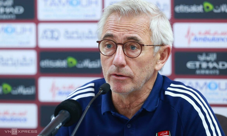 Van Marwijk: 'Memenangkan Vietnam adalah pertandingan terbaik UEA'