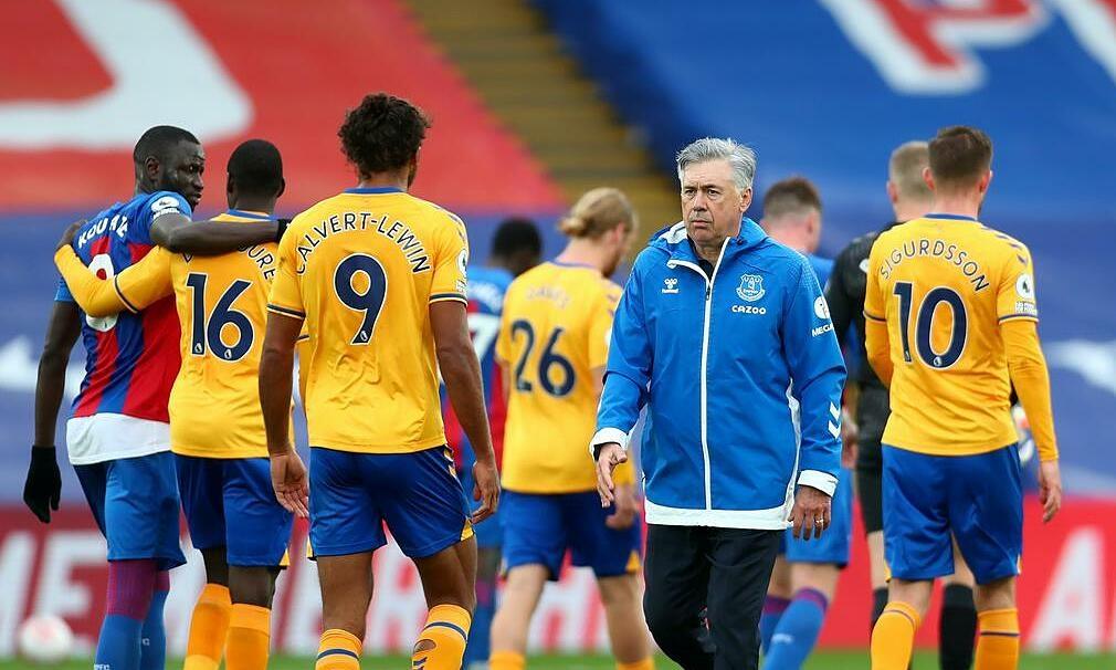 Para pemain Everton dikejutkan oleh Ancelotti