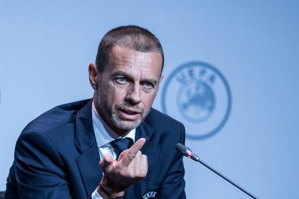 Presiden UEFA: 'Real, Barca, Juventus melumpuhkan diri mereka sendiri'