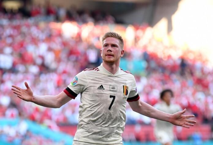 Fans tergila-gila pada De Bruyne di Euro 2021