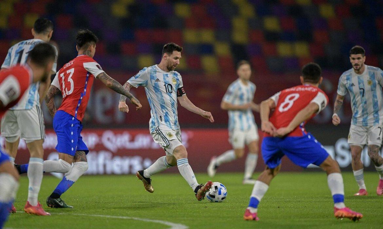 Argentina 1-1 Cile (babak kedua)