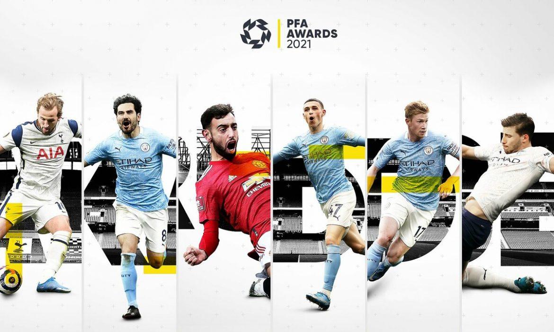Man City sangat dinominasikan untuk Pemain Terbaik di Liga Premier