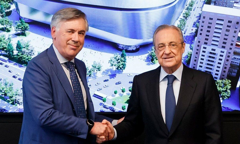Ancelotti – pilihan Florentino Perez . yang patuh