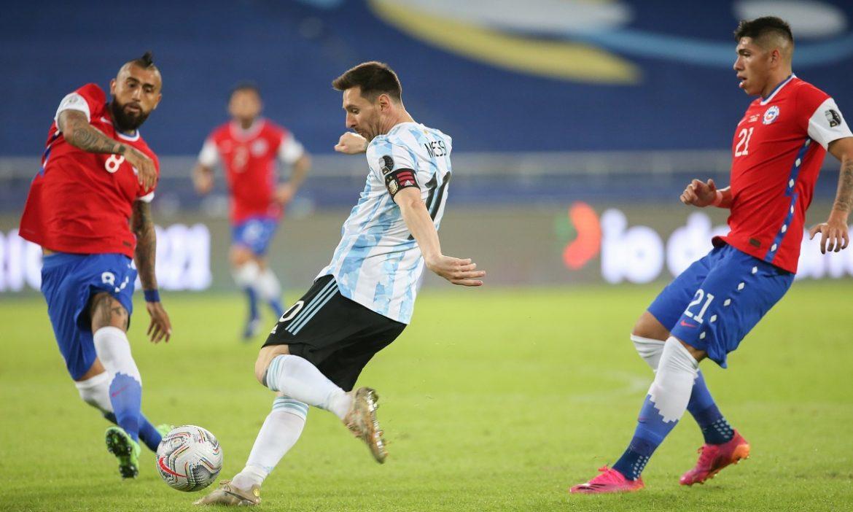 Messi tidak bisa menyelamatkan Argentina