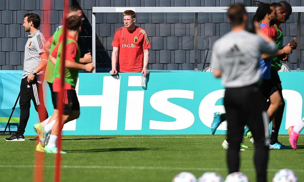 De Bruyne melewatkan pertandingan pembukaan Euro 2021