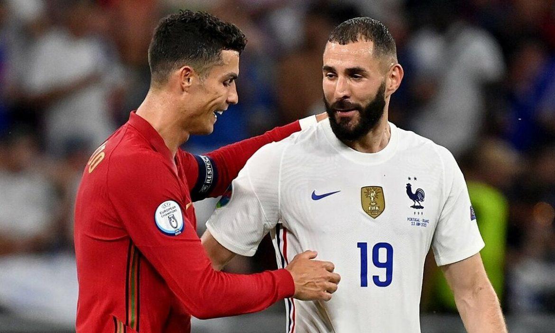 Prancis memimpin Portugal maju