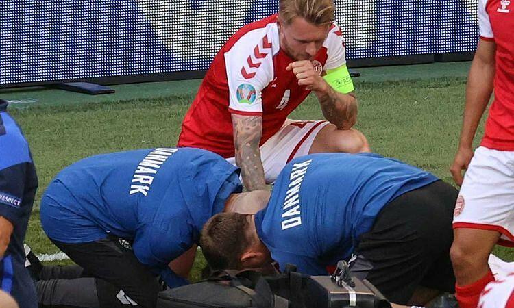 Penyebab serangan jantung Eriksen tidak diketahui
