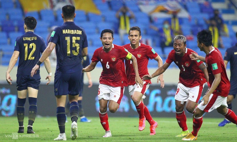 Indonesia imbang dengan Thailand