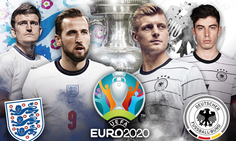 Korelasi pertandingan babak 1/8 Euro 2021