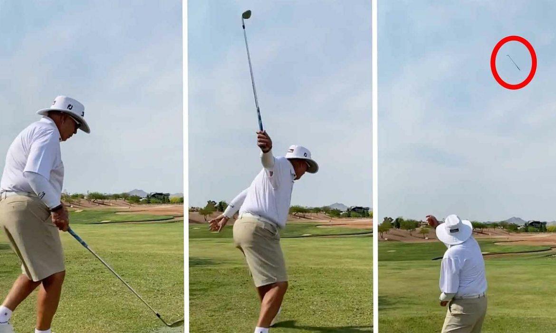Legenda golf: 'Melempar adalah seni'