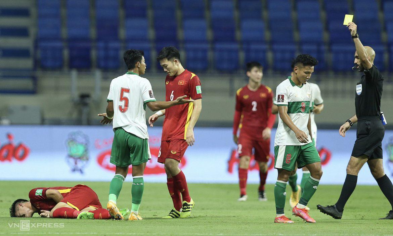 Pelatih Nguyen Viet Thang: 'Pemain Indonesia bermain pahit'