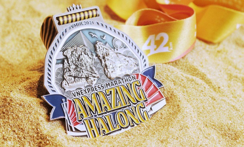 VM Amazing Ha Long 2021 mengumumkan medalinya