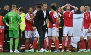 Pelatih Denmark: 'UEFA menunda pertandingan karena Covid-19, serangan jantung tidak'