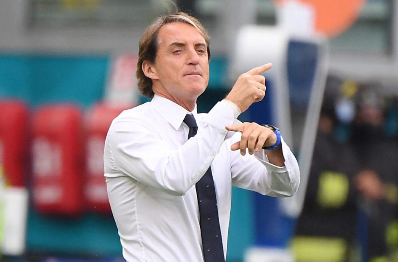 Mancini: 'Italia bermain bagus bahkan setelah mengganti delapan pemain'