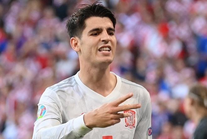 Morata menyamai rekor Torres di Euro