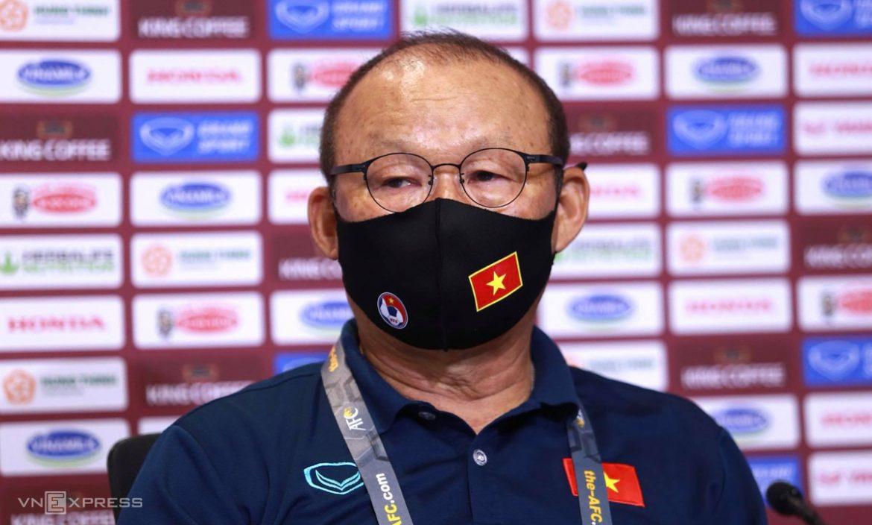 Pelatih Park Hang-seo: 'Vietnam harus menang melawan Indonesia'