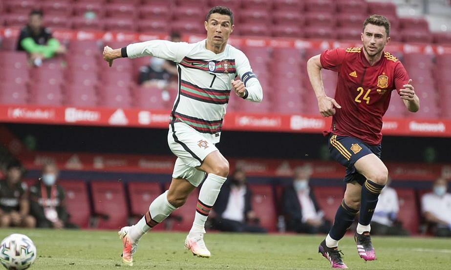 Ronaldo kehilangan napas dalam perlombaan untuk Euro