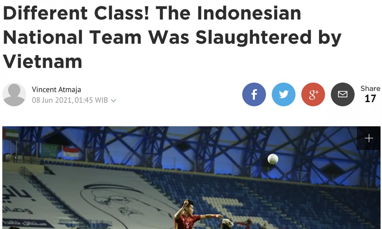 Koran Bola: 'Kelas Vietnam melampaui Indonesia'