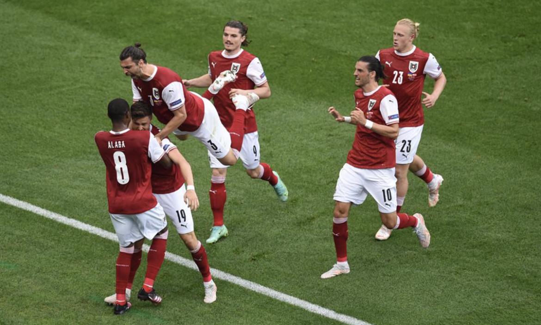 Austria Salip Ukraina di Grup O