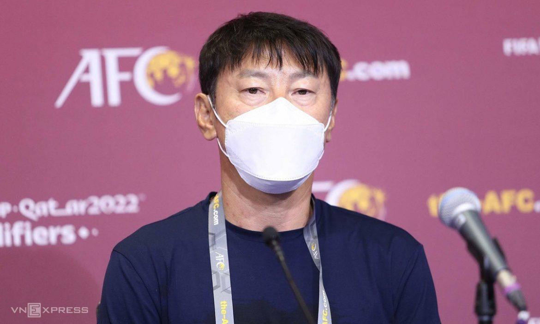 Pelatih Indonesia mengadakan konferensi pers sebelum pertandingan Vietnam