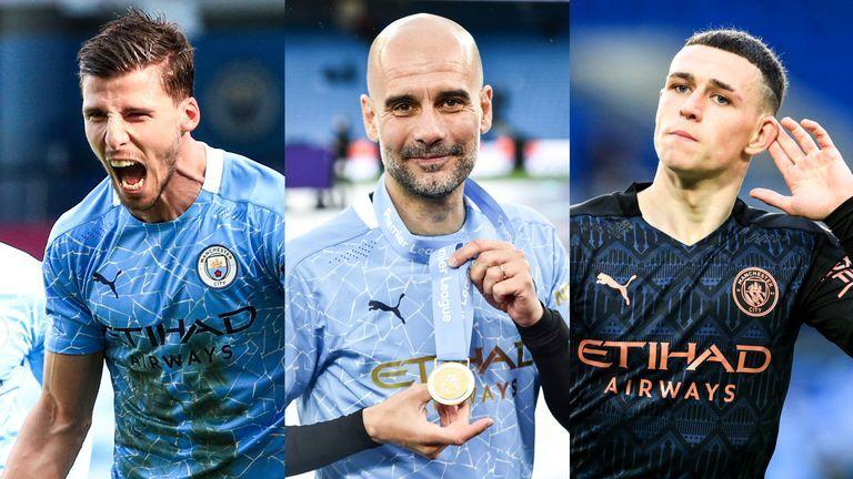 Man City memperoleh penghargaan Liga Premier individu