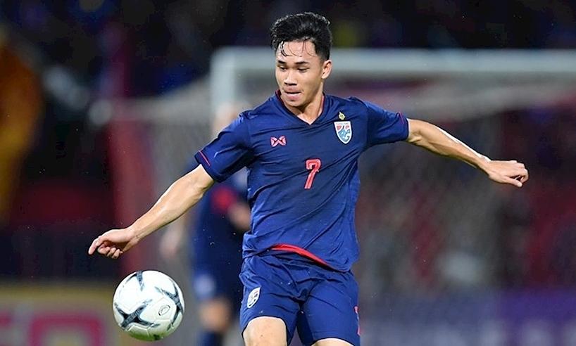 Gelandang Thailand ini bertujuan untuk menghadiri Piala Dunia