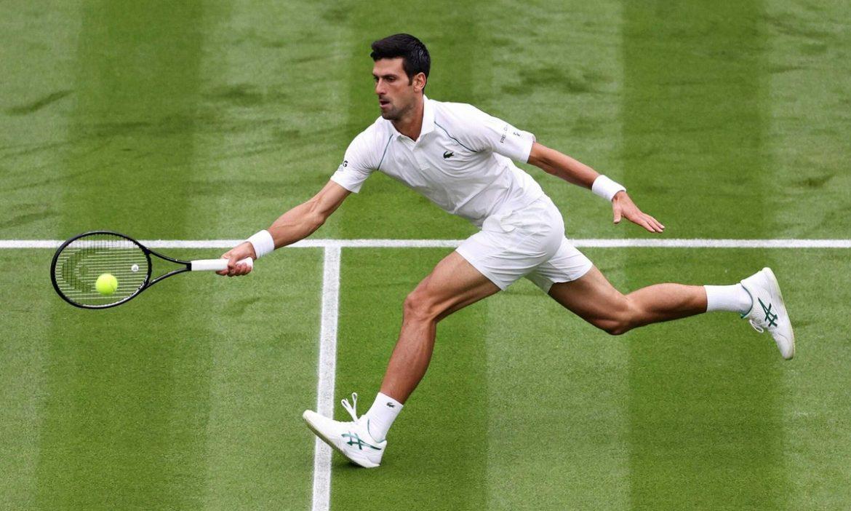 Djokovic kalah set pertama di Wimbledon