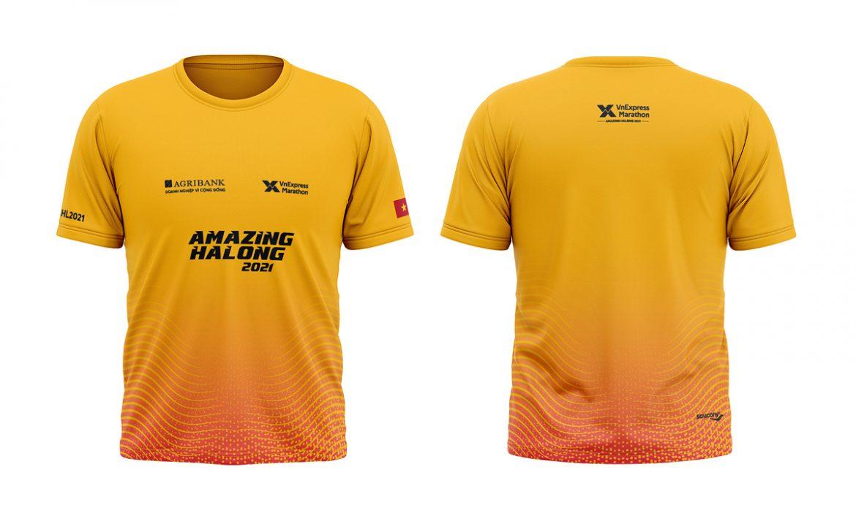 VM Amazing Ha Long 2021 meluncurkan jersey dan kemeja Finisher