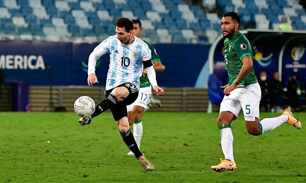 Messi membantu Argentina mengobati Bolivia