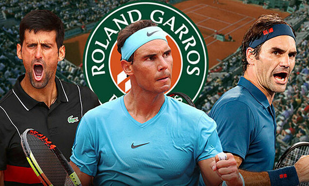 'Big 3' menuju minggu kedua di Roland Garros