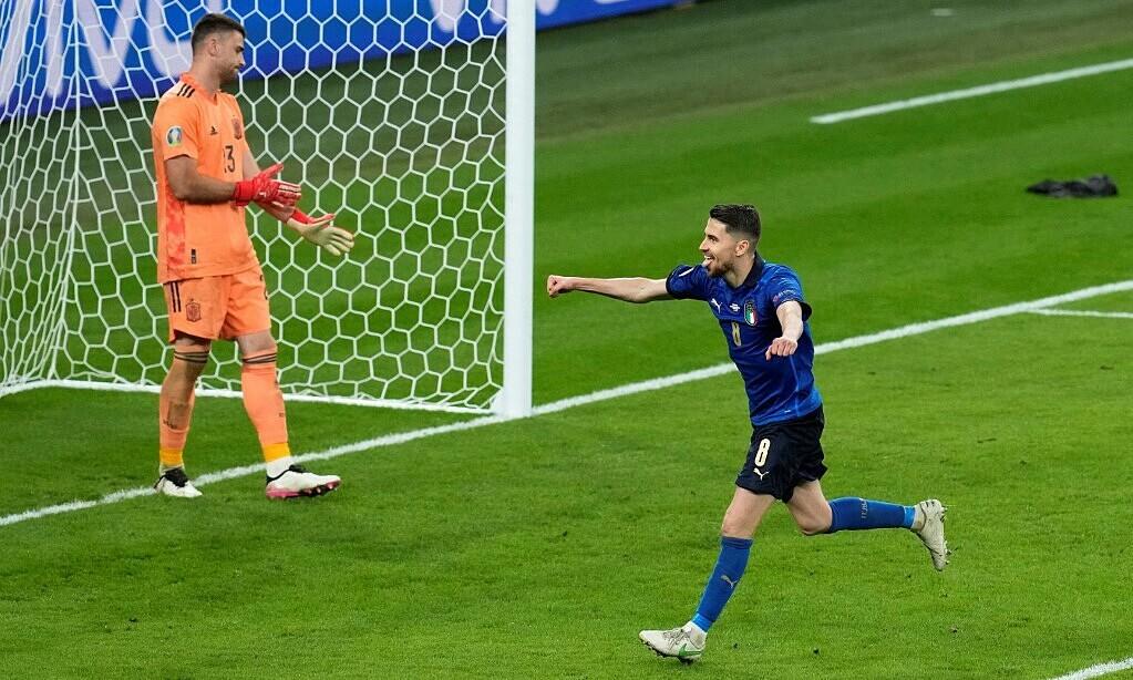 Jorginho dianggap sebagai ancaman bagi tim Inggris