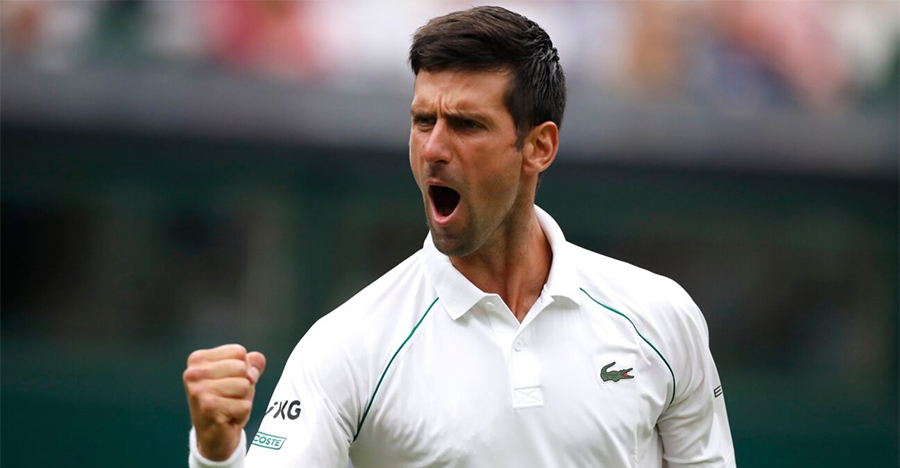 Djokovic menyamakan setiap pertandingan di Wimbledon dengan pekerjaan rumah