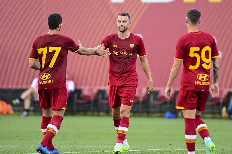 Roma menang 10-0 pada debut Mourinho