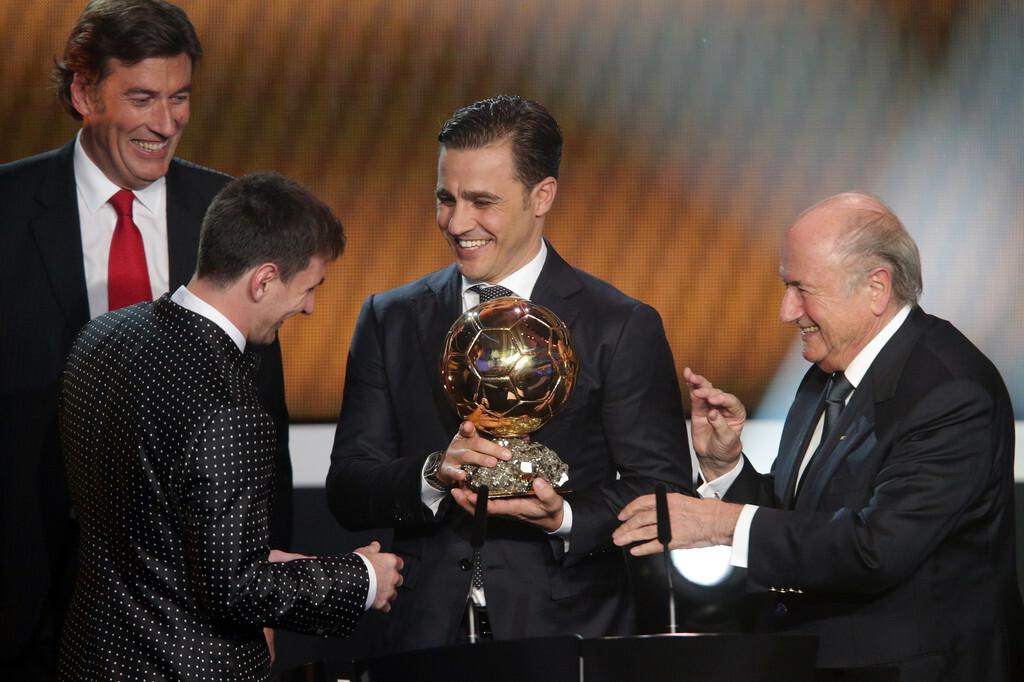 Cannavaro: 'Messi pantas mendapatkan Ballon d'Or'