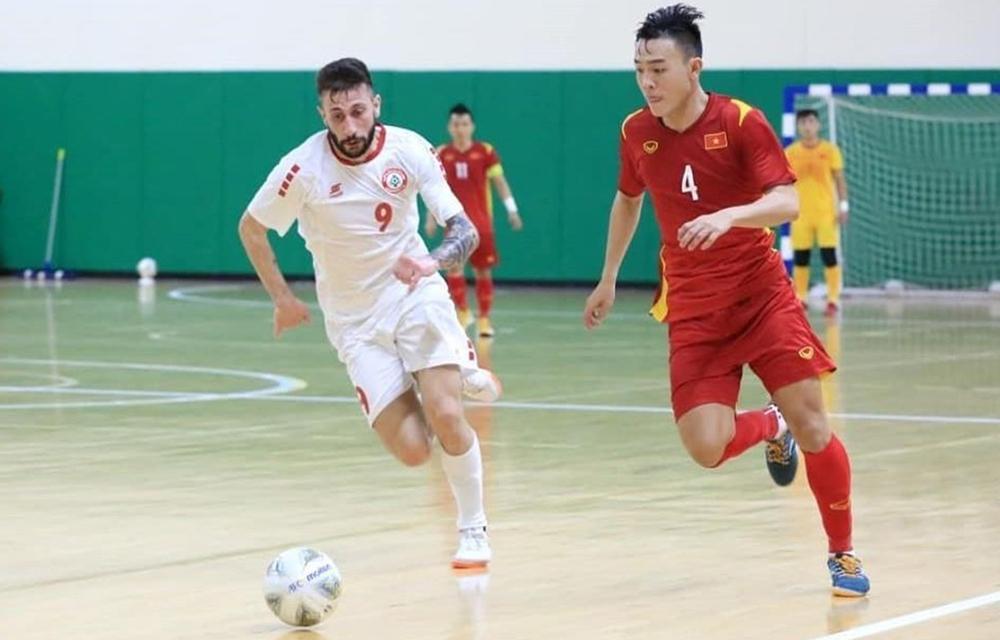 Tim futsal Vietnam berkumpul untuk mempersiapkan Piala Dunia