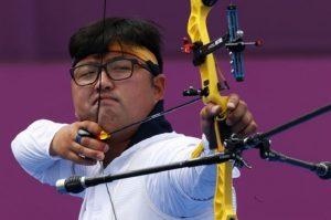 Pemanah Korea sembilan kali berturut-turut mencetak 10