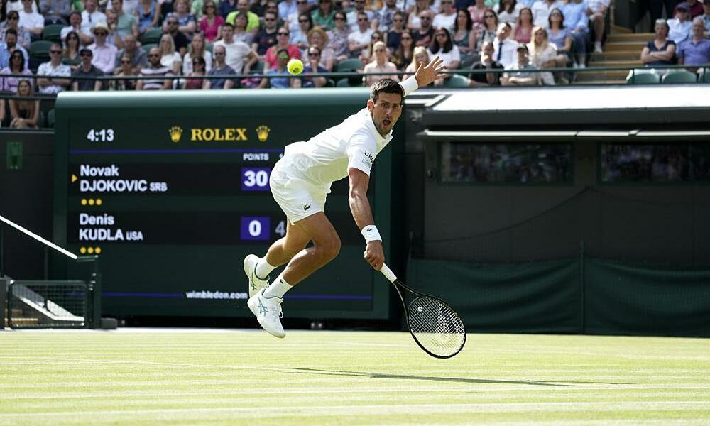 Djokovic cetak rekor di babak ketiga Wimbledondon