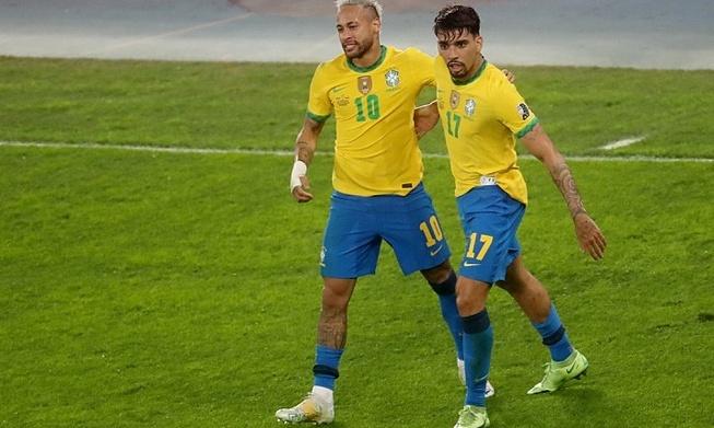 Neymar membantu Brasil mencapai final Copa America
