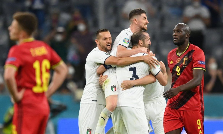 Italia vs Spanyol di Semifinal Euro 2021