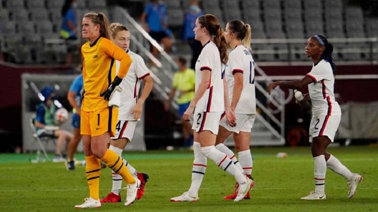 Tim wanita AS tidak terkalahkan setelah 44 pertandingan