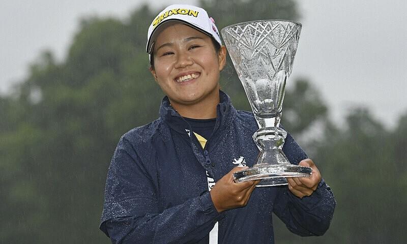 Pegolf Jepang memenangkan LPGA Classic Marathon berkat bencana alam
