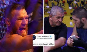 McGregor menghina mendiang ayah Khabib