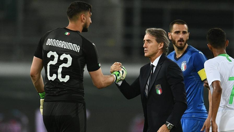 Dua jiwa di tim Italia tuyển