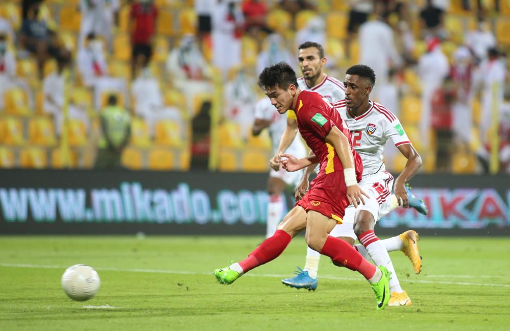 Vietnam belum menyelesaikan tempat untuk babak kualifikasi Piala Dunia 2022