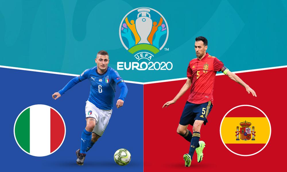 Korelasi sebelum pertandingan Italia – Spanyol