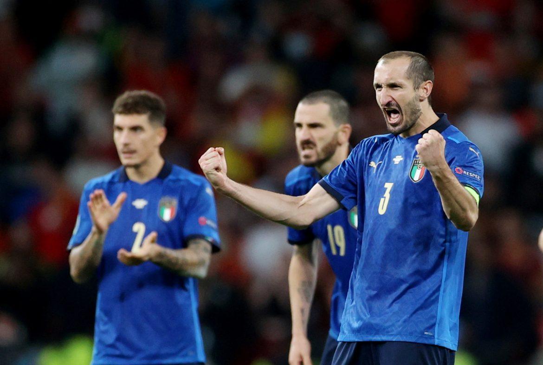 Chiellini: 'Tim cadangan juga bisa membawa Inggris ke final'